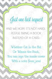 baby shower instead of a card bring a book idea and with the price of cards these days a book would be
