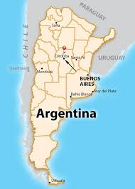 Buenos Aires Map Argentina Score International