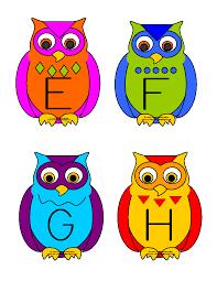 making learning fun owl abc matching