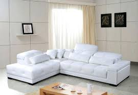 Cheap White Leather Sectional Sofa White Sectional Sofa With Chaise Joze Co