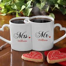 mr and mrs collection personalized mugs gift weddings and wedding