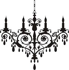 Black Chandelier Lighting by Chandelier Clip Art Http Www Modernlamps Info Chandelier Clip