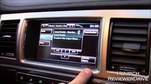 infotainment system of 2014 jaguar xf sportbrake youtube
