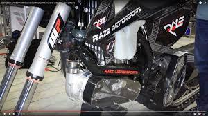 motocross snow bike a supercharged snowbike video raze motorsports u0027 king kong