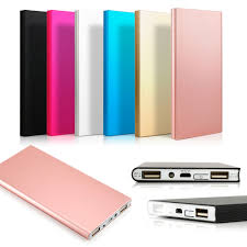 best black friday deals on portable chargers 20000mah double usb ultra thin portable external battery charger