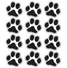 paw print sheets sheets of decals paw prints cat kitten small pet