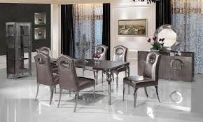 steel dining table set stainless steel dinning table with dining room set with 6 chairs