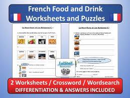 french basics worksheets puzzles by fullshelf teaching