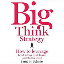 Small H by Amazon Com Big Think Strategy How To Leverage Bold Ideas And