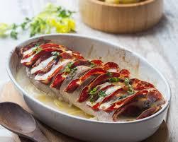 cuisine filet mignon filet mignon façon orloff à la coppa mozzarella cuisine addict