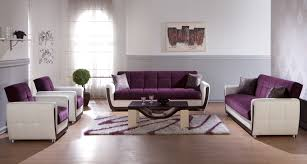 Living Room Ideas Leather Furniture Well Suited Purple Living Room Set Brilliant Decoration Living