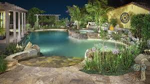 Remodel Backyard San Marino Swimming Pool And Backyard Remodel