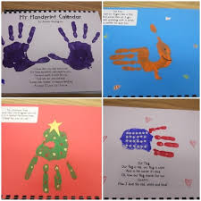 handprint calendar 23 diy holiday gifts kids can give to their
