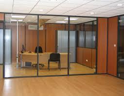 cloisons bureaux cloisons de bureaux cloisons ossatures noir graphite graine vitree