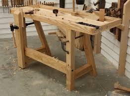 wood workbench ideas bench decoration