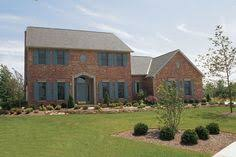 Brick Colonial House Plans Traditionally Elegant 4 Bedroom Colonial Style Home Colonial