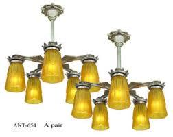 Pewter Ceiling Lights Vintage Pewter Chandelier Etsy