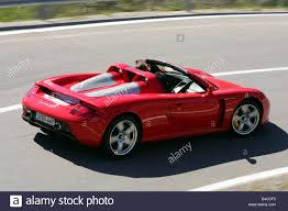 porsche 911 convertible 2005 car porsche carrera gt model year 2005 red convertible open