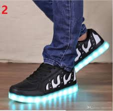 light up shoes size 4 new 2017 casual simulation led shoes women led lighe shoes women