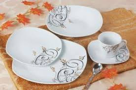 20pcs square shape new bone china dinner set for sale bone china
