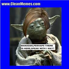 Funny Yoda Memes - manager yoda clean memes the best the most online