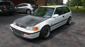honda civic 90 90 honda civic si hatchback ef turbo b18b tuned 325whp 1988