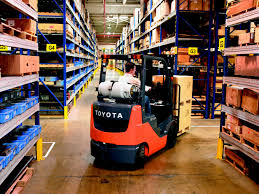 forklift fleet management toyota lift of minnesota