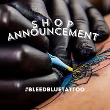 bleed blue tattoo u0026 piercing bleed blue tattoo instagram