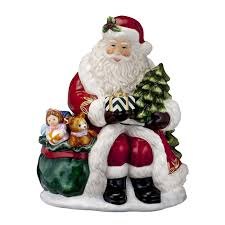 2016 holiday heirlooms nostalgic gift from santa cookie jar by