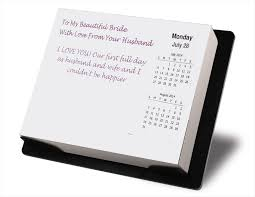 new personalized gift time gift graduation personalized desktop calendar gift