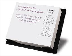 countdown personalized desktop calendar gift