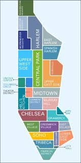 map of manhattan new york broken theater district west side