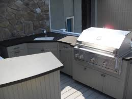 Outdoor Cabinets Fully Functioning Outdoor Cabinets Affordable Outdoor Kitchens