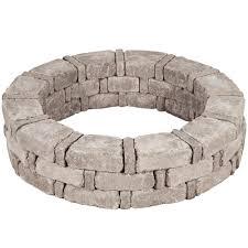 pavestone rumblestone 46 in x 10 5 in rumblestone tree ring kit