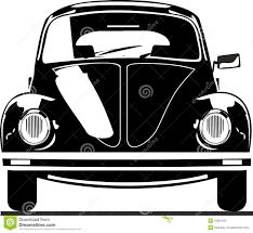 volkswagen van clipart de kever vooraanzicht van vw vector illustratie afbeelding 15821261