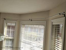 Installing Drapery Rods Astounding Curtain Rods For Bay Windows Ideas 20 For Red Curtains