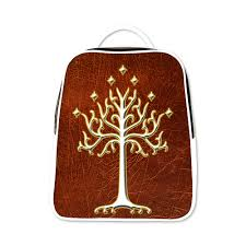 lord of the rings white tree of gondor lotr backpack mycasescovers