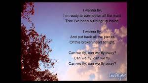 sleeping with sirens fly lyrics youtube