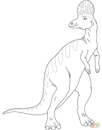 corythosaurus coloring page free printable coloring pages