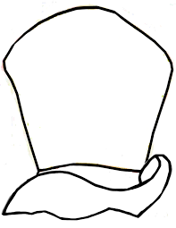 hatter hat coloring pages