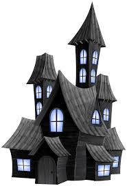 spooky house clipart transparent holloween house images reverse search