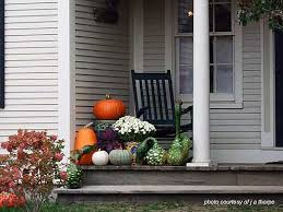 Outdoor Fall Decor Ideas - delightful decorating ideas for fall