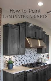 How To Paint Laminate Cabinets Paint Laminate Cabinets Laminate