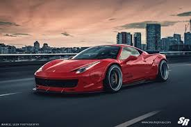 lifted ferrari liberty walk ferrari 458 italia on pur wheels might not be