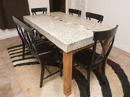 granite top dining table 20 best granite top dining table designs for your room home kitchen