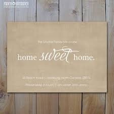 moving announcement new home sweet home printing options
