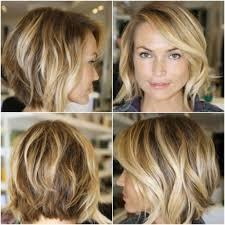 medium length layered wavy hairstyles keri russell cute layered medium wavy bob hairstyle