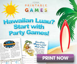 Tropical Themed Party Decorations - hawaiian luau party themes