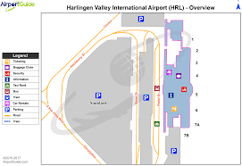 Dallas Terminal Map by Harlingen Valley International Hrl Airport Terminal Maps