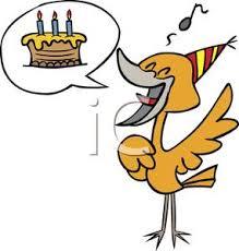 happy birthday singing image a bird singing happy birthday